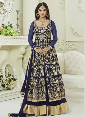 Krystle Dsouza Layered Designer Anarkali Suit