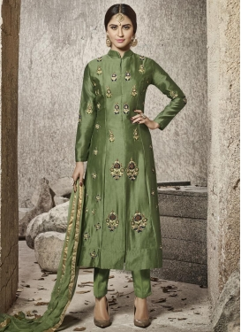 Krystle Dsouza Pant Style Designer Salwar Suit For Festival