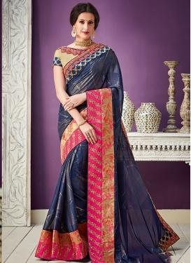 Lace Work Classic Designer Saree