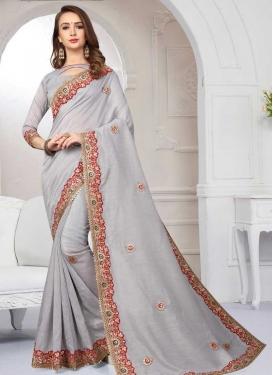 Lace Work Classic Saree