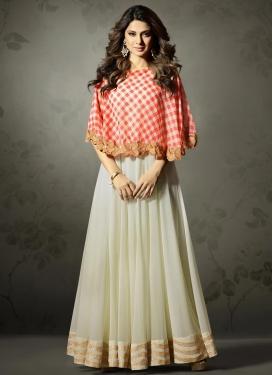 Lace Work Long Length Designer Suit
