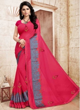 Lace Work Traditional Designer Saree