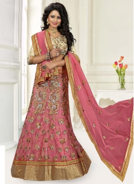 Lace Work Trendy Lehenga