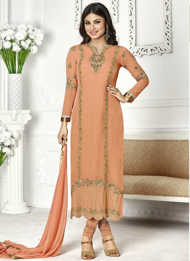 Latest Faux Georgette Pakistani Salwar Suit