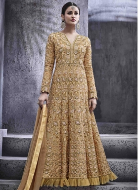 Lavish Art Silk  Anarkali Salwar Kameez