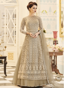 Layered Designer Anarkali Suit