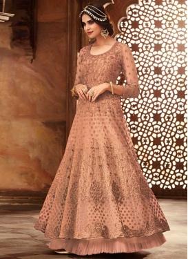 Layered Designer Anarkali Suit
