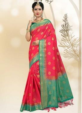 Linen Trendy Classic Saree For Festival