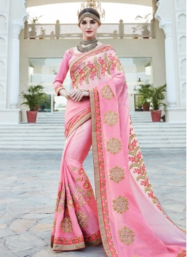 Lively Traditional Designer Saree