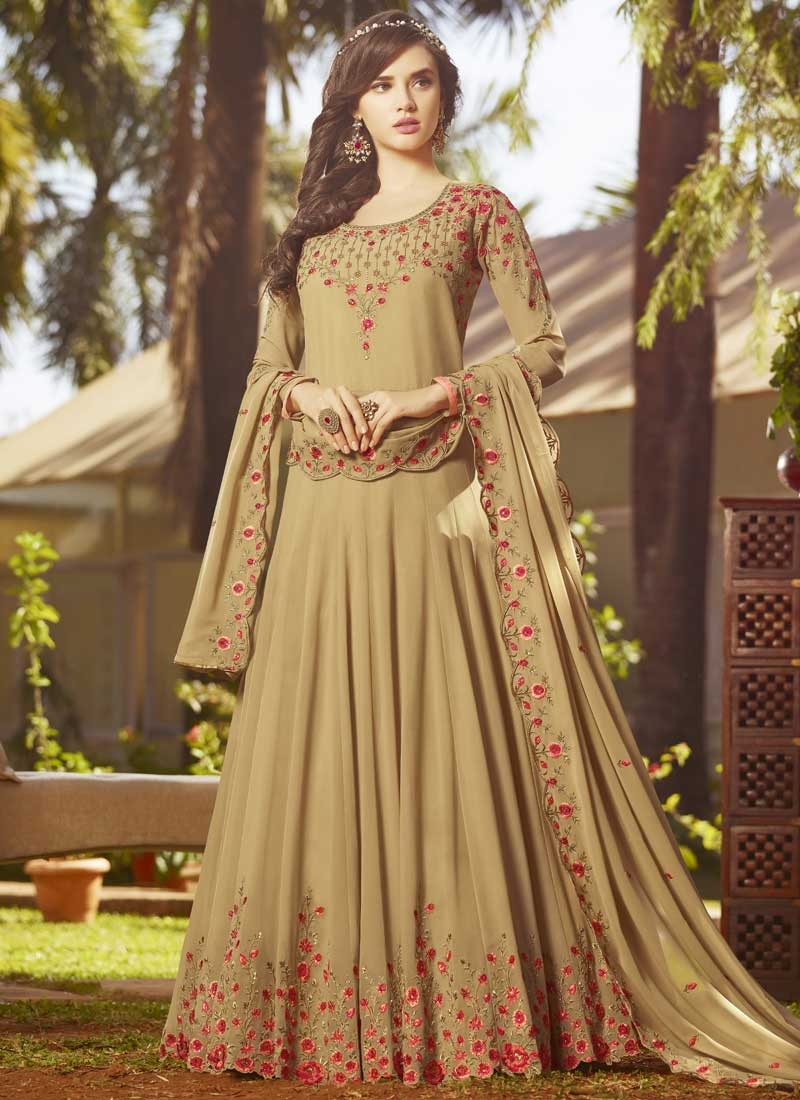 Long Length Anarkali Salwar Suit