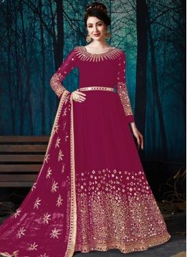 Long Length Anarkali Salwar Suit For Ceremonial