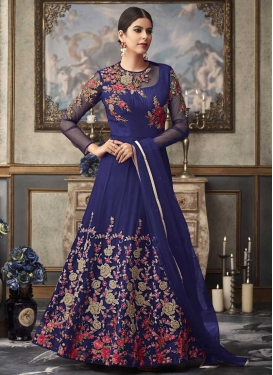 Long Length Designer Anarkali Suit For Ceremonial