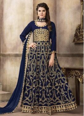 Long Length Designer Anarkali Suit For Festival