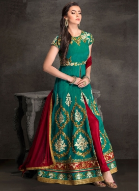 Long Length Designer Suit For Ceremonial