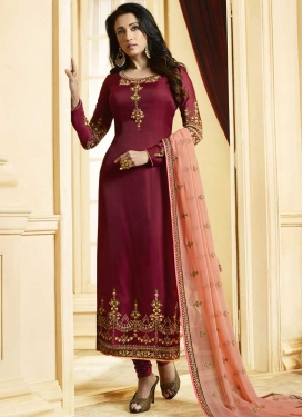 Long Length Pakistani Salwar Suit