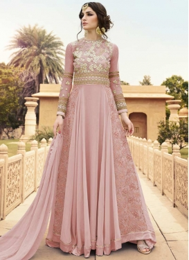 Long Length Trendy Anarkali Suit For Ceremonial