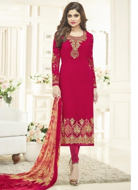Long Length Trendy Pakistani Suit For Ceremonial