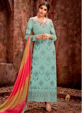 Long Length Trendy Pakistani Suit For Ceremonial