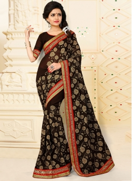 Lordly Contemporary Saree For Ceremonial