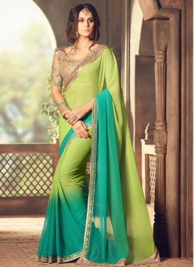 Lovable Designer Contemporary Saree For Festival