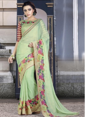 Lovable  Georgette Trendy Classic Saree
