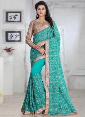 Lurid  Contemporary Style Saree