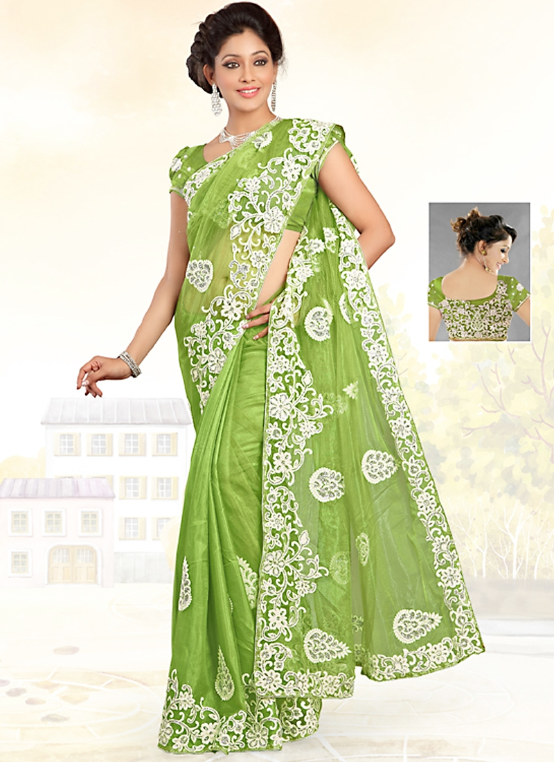 Luscious Party Wear Fancy Saree