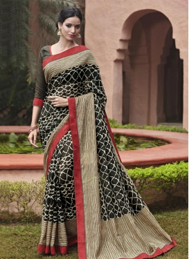Lustre  Lace Work Classic Saree