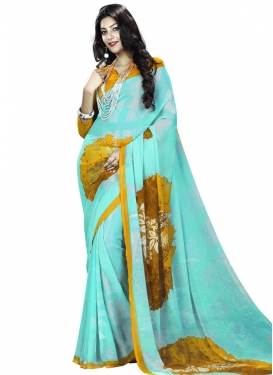 Lustre Traditional Saree For Casual