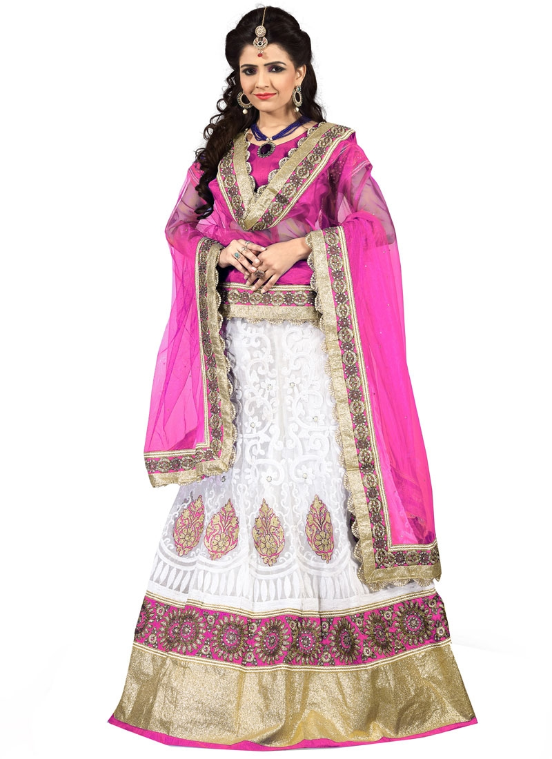Luxurious Booti Work Designer Lehenga Choli