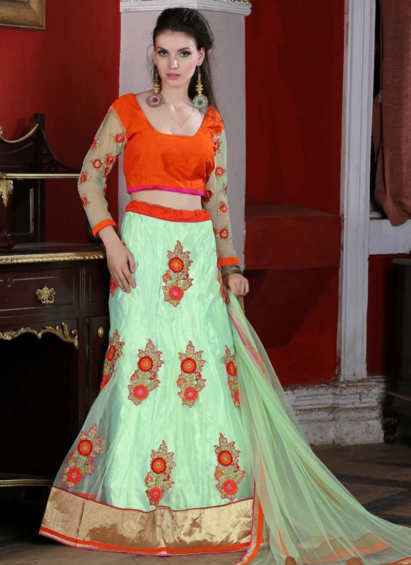Luxurious Booti Work Party Wear Lehenga Choli