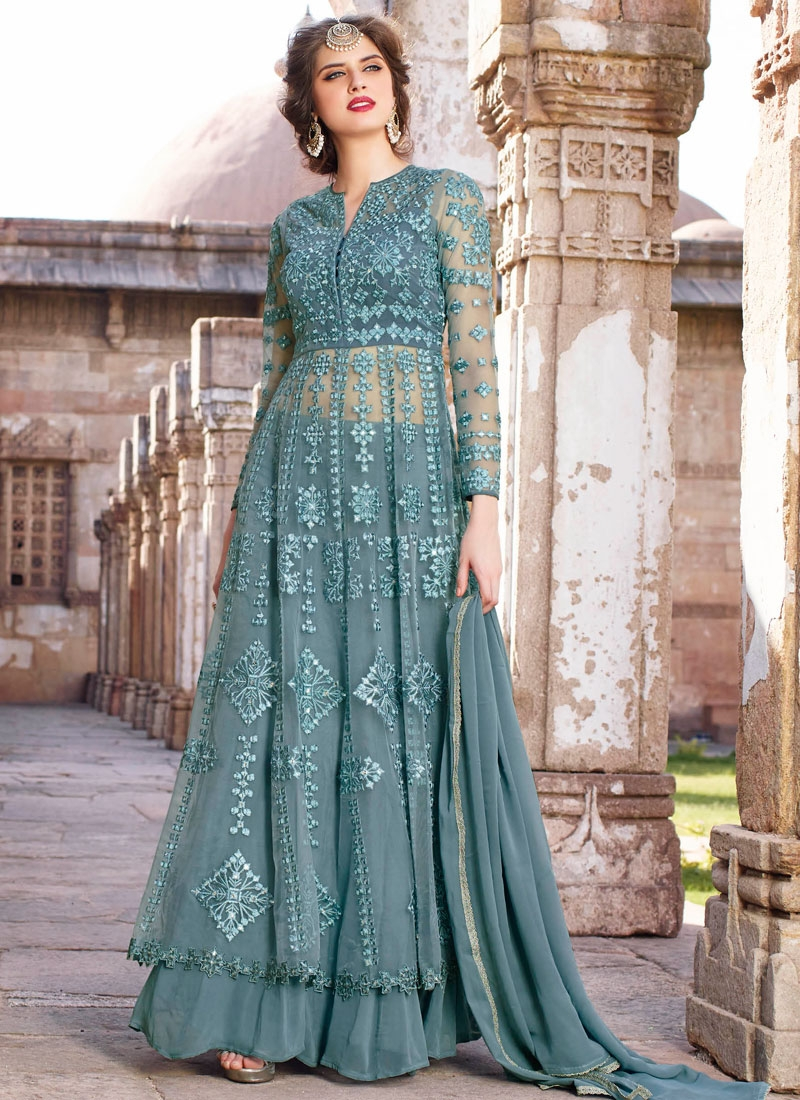 Luxurious Embroidery Work Net Designer Lehenga Choli