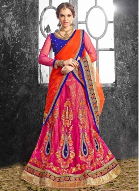 Luxurious Floral Work Designer Lehenga Choli