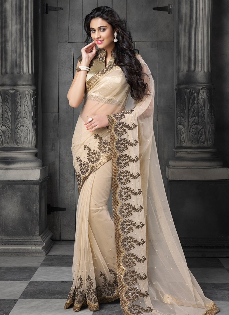 Luxurious Net Party Wear Saree