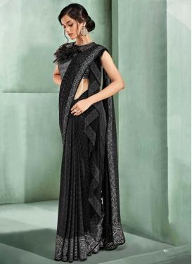 Lycra Classic Designer Saree