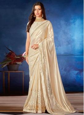 Lycra Designer Traditional Saree