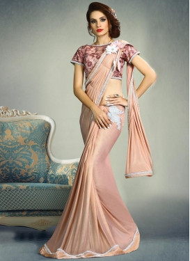 Lycra Traditional Designer Saree