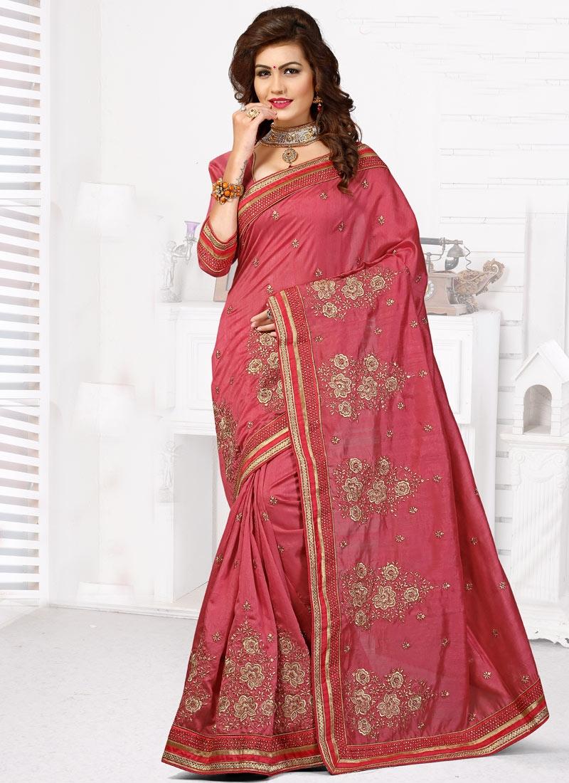 Magnetic Bhagalpuri Silk Booti Work Designer Saree