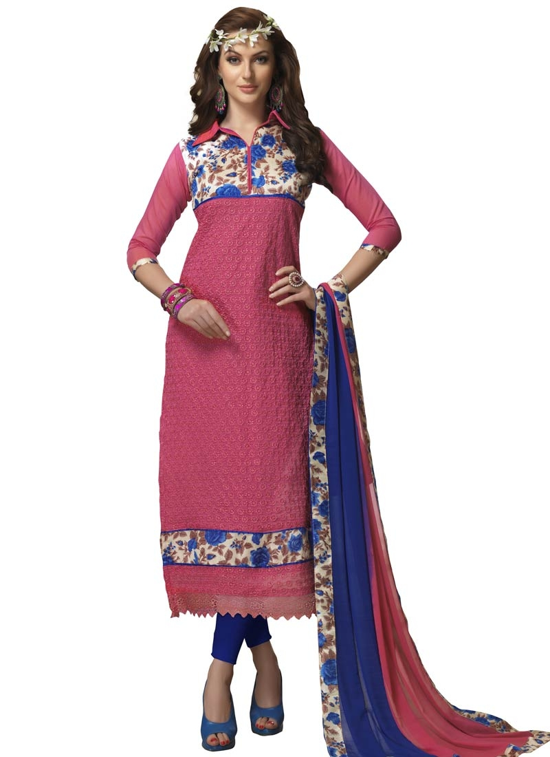 Magnetic Digital Print Work Casual Salwar Suit