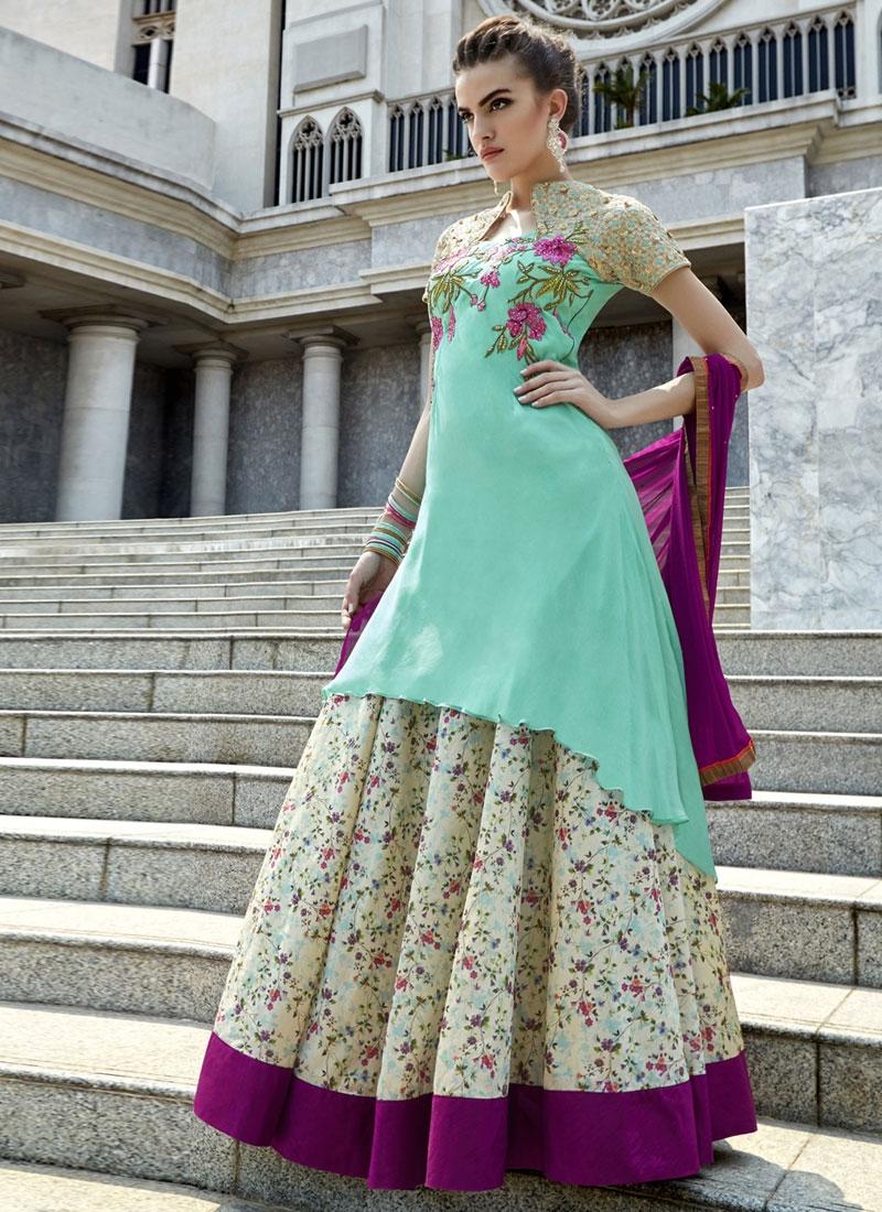 Magnetic Sequins Work Designer Lehenga Choli