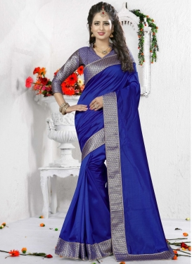 Magnetize Lace Work  Traditional Saree For Ceremonial
