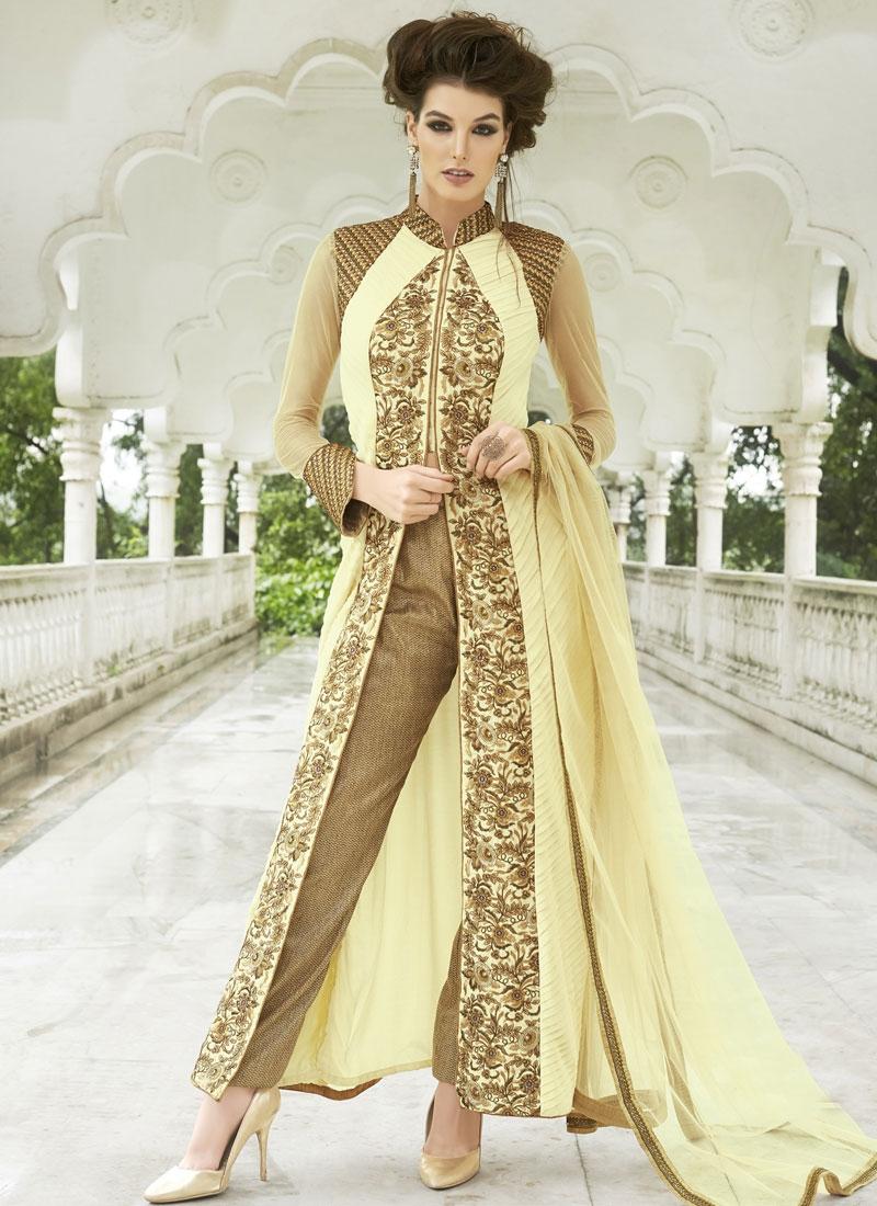 Magnetize Sequins Work Pant Style Designer Salwar Kameez