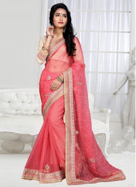 Magnificent Beads Work Classic Saree
