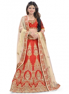 Magnificent  Booti Work Designer Lehenga Choli