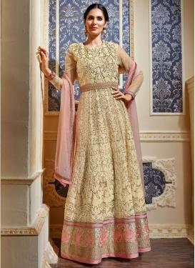 Magnificent Sequins Work Floor Length Wedding Salwar Suit