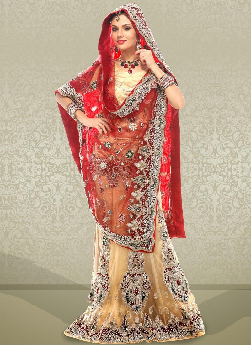 Majestic Cutdana Enhanced Bridal Lehenga Choli