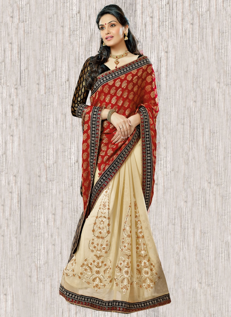 Majestic Resham Enhanced Lehenga Saree