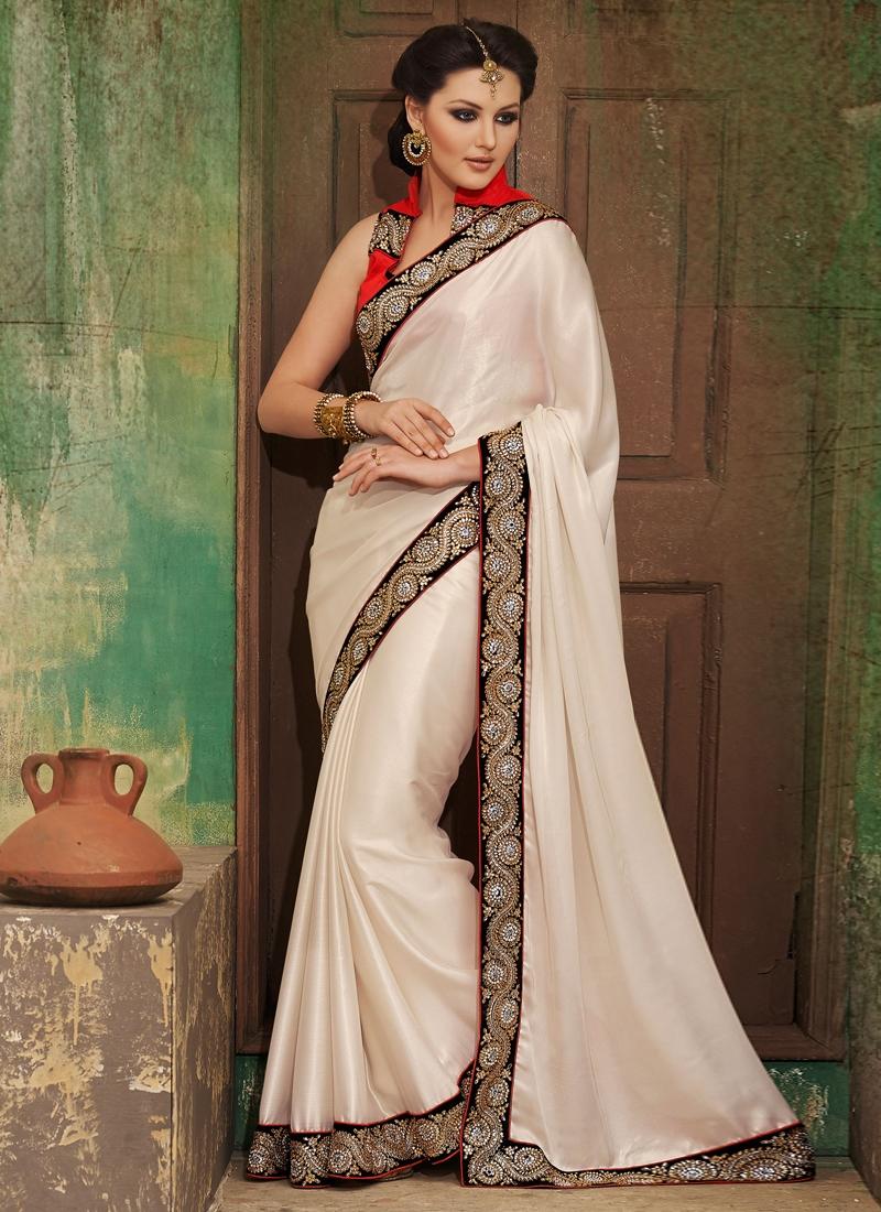 Majestic Stone Enhanced Party Wear Saree