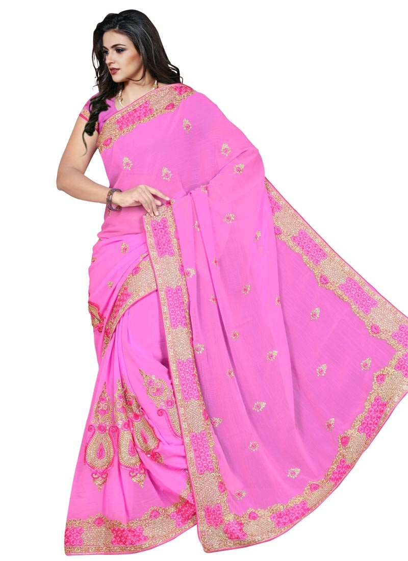 Majesty Booti Work Party Wear Saree