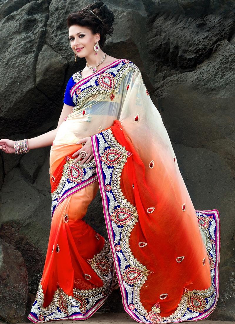 Marvelous Multi Enhanced Designer Saree